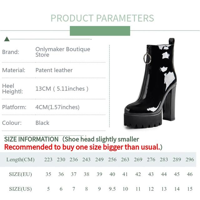 Women's Comfy Elastic Platform Boots Round Toe