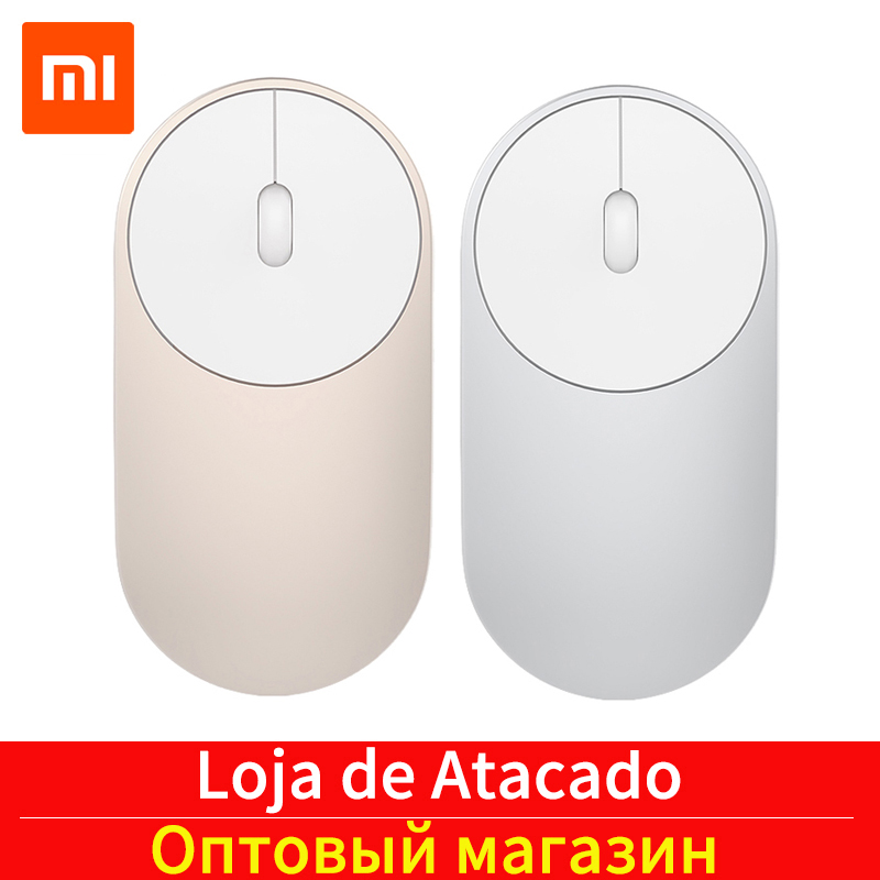 Xiaomi Wireless Mouse Aluminium-Alloy Bluetooth-4.0 Portable Connect Dual-Mode Mi-1200dpi title=
