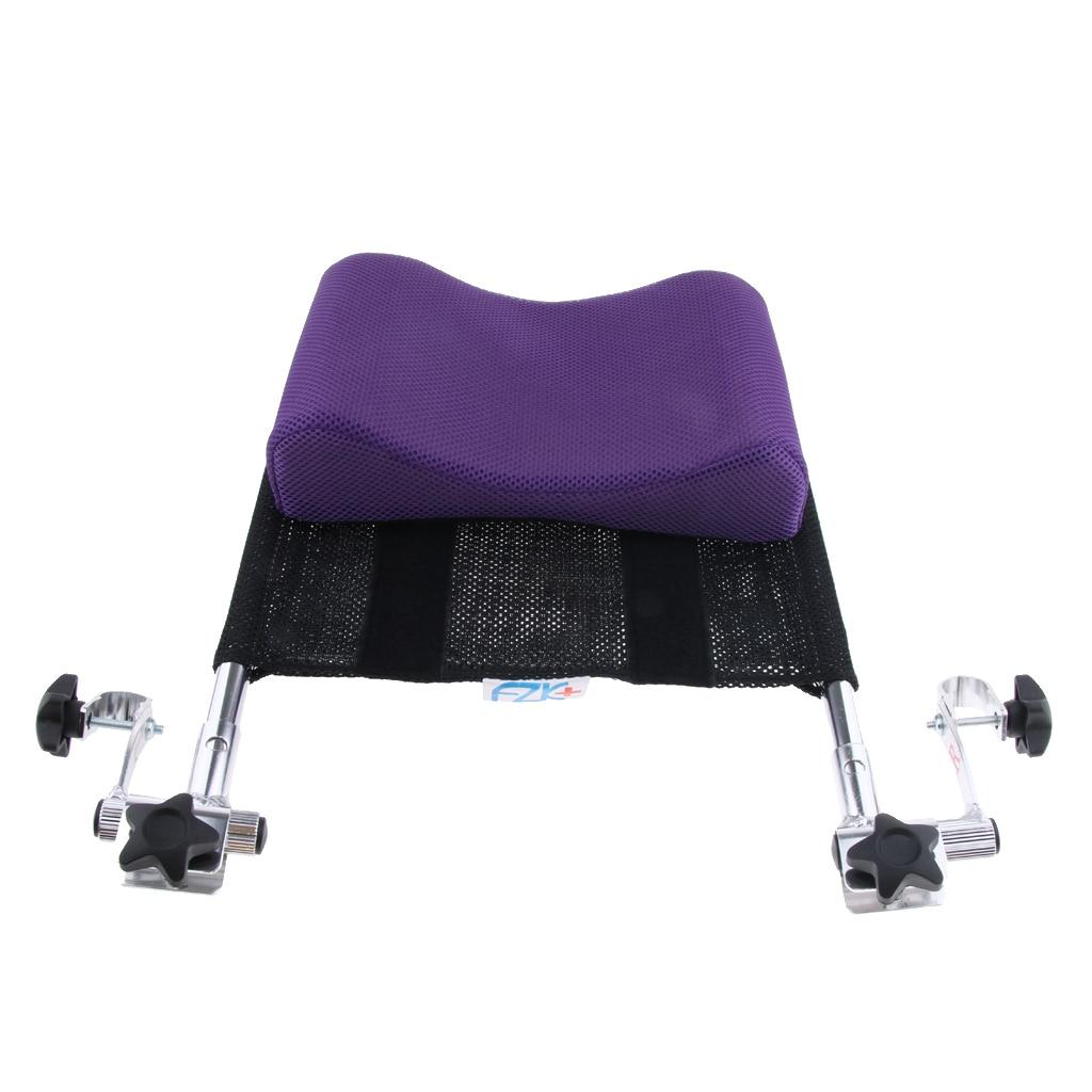 Perfeclan 16'-20' Wheelchair Neck Support Headrest Head Neck Rest Pad Purple