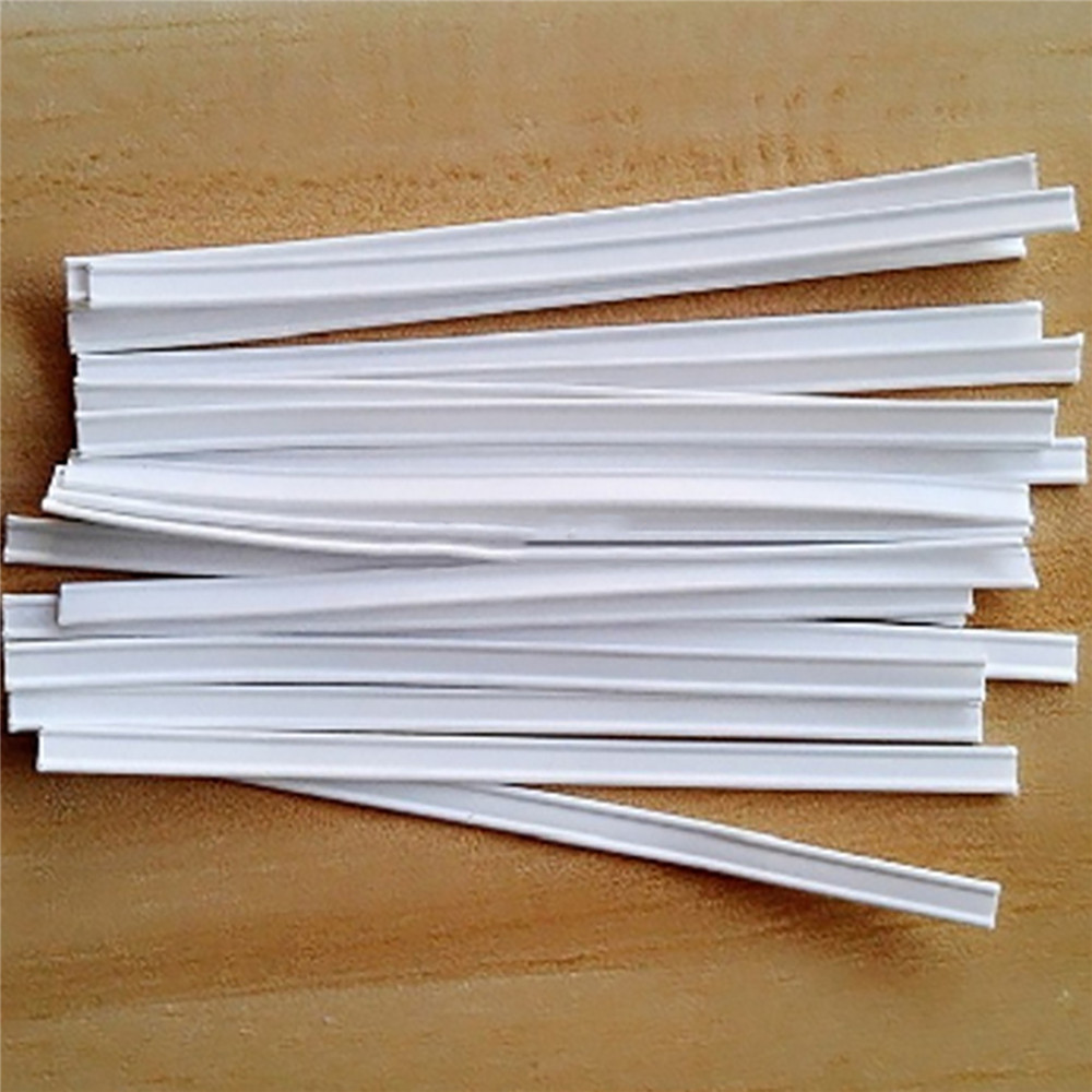 100PCS Nose Bridge Strips Mouth Face Guard Nose Bridge Strip DIY Making Face Guard Fix Protection DIY Craft Accessories