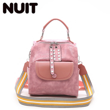 Ladies Fashion Backpack Bagpack Mini Back Pack Bag Teenagers Girls Pu Leather High Quality Backpacks Bags