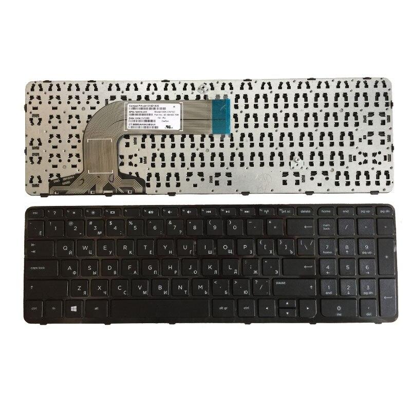 For HP Pavilion 17-e175sr 17-e178sr 17-e181sr 17-e182sr Keyboard Russian Frame