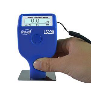 Image 4 - تغليف الطلاء أداة قياس السمك 0 2000μm 0.1μm Fe NFe التحقيق مقياس LS220 للسيارات السيارات 19QB