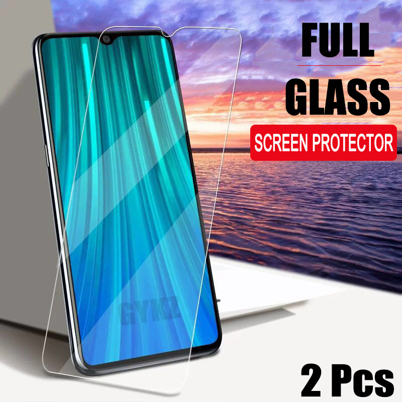 2Pcs Tempered Glass For Xiaomi Redmi Note 8 Pro Screen Protector Explosion-proof Tempered Glass For Redmi Note 8 PRO Glass Film