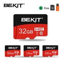 Bekit High speed Micro SD Card 4GB 8GB 16GB 32GB Class 10 UHS1 Memory Card MicroSD 64GB 128GB 256GB UHS-3 mini TF card Flash Card cartao de memoria for phone camera