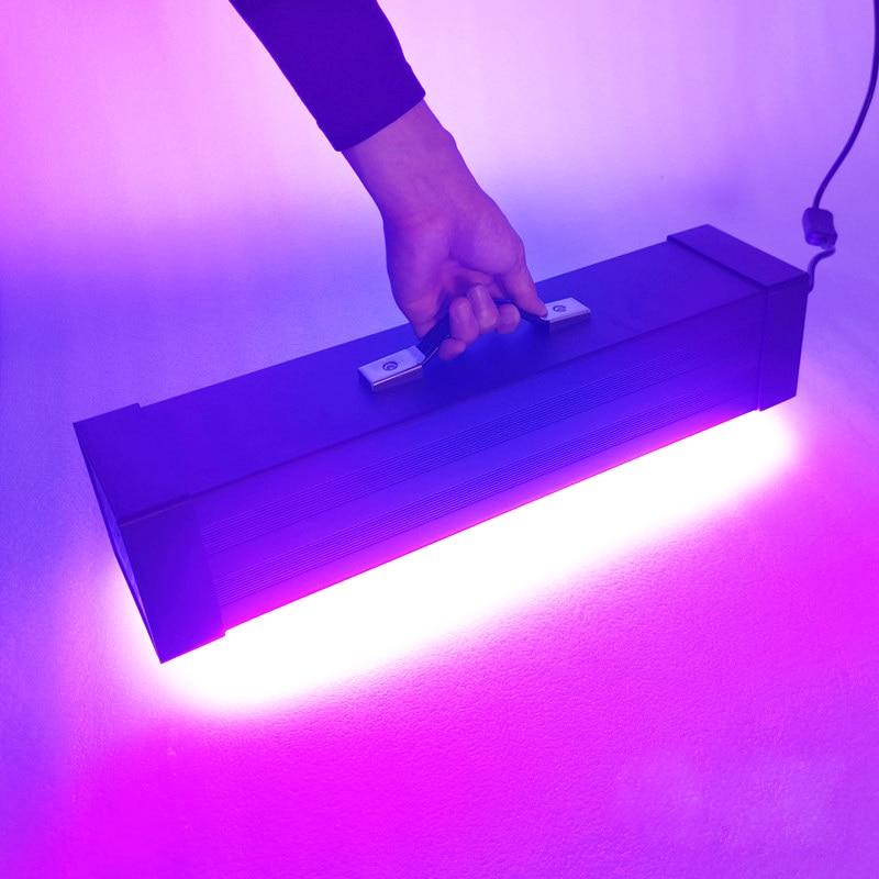 405nm UV LED Resin Curing Lamp 365nm 395nm Ultraviolet Light PCB Solder Glue Inkjet Varnish Paint Screen Printing Photo Develop