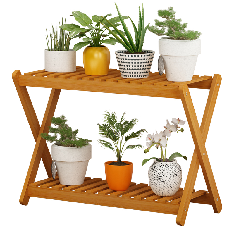 Originality Multi-storey Landing Type Meaty Botany Frame Simplicity Modern Indoor Flower Airs Balcony Flowerpot Frame