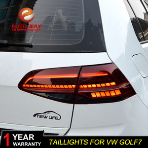 Image 2 - Car Styling for VW Golf 7 MK7 Golf7 Golf7.5 MK7.5 taillights TAIL Lights LED Tail Light LED Rear Lamp taillight Automobile
