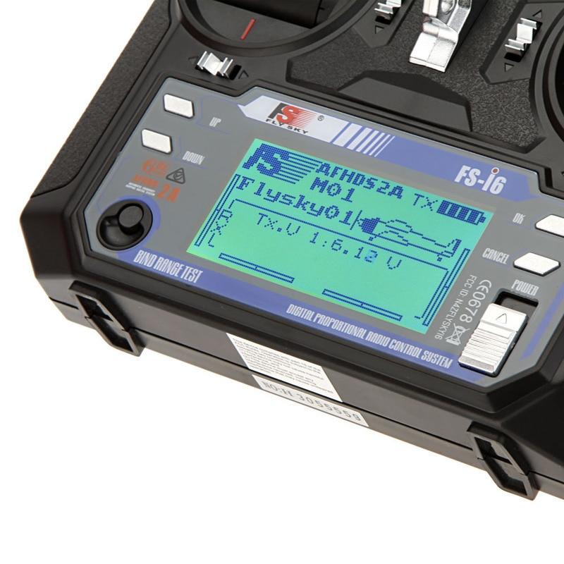 FLYSKY FS-i6 i6 2.4G 6CH AFHDS transmetteur avec iA6B X6B A8S R6B iA10B récepteur Radio contrôleur pour avion Drone RC FPV - 5