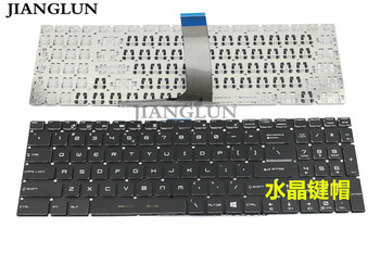 JIANGLUN New for Laptop MSI MS-16J5 MS-16H2 MS-16J9 MS-1793 MS-1796 US Keyboard without Backlit фото