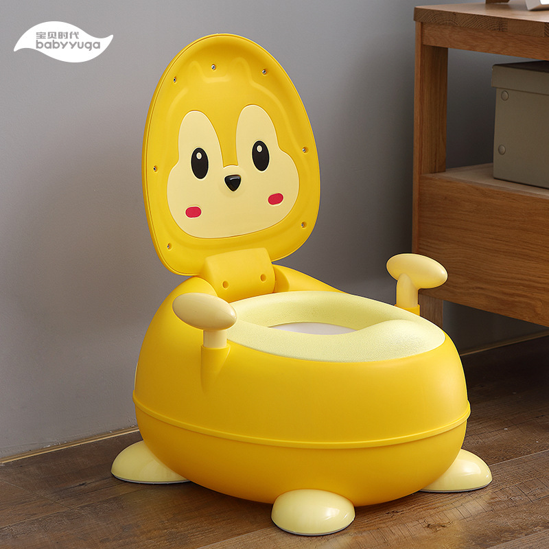 Toilet For Kids Baby Urinal Kids Backrest Chamber Pot Men And Women Baby Potty Infants Extra-large No.