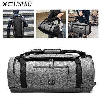 XC спортивная сумка, многофункциональная Мужская спортивная сумка для спортзала, Женская Мужская спортивная сумка для фитнеса, рюкзак с обу...