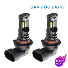 2Pcs NEW Car LED Fog Light Bulbs H4 H7 H8 H11 H10 9005 9006 12 SMD 2525 160W Highlight lamp headlamp 12V