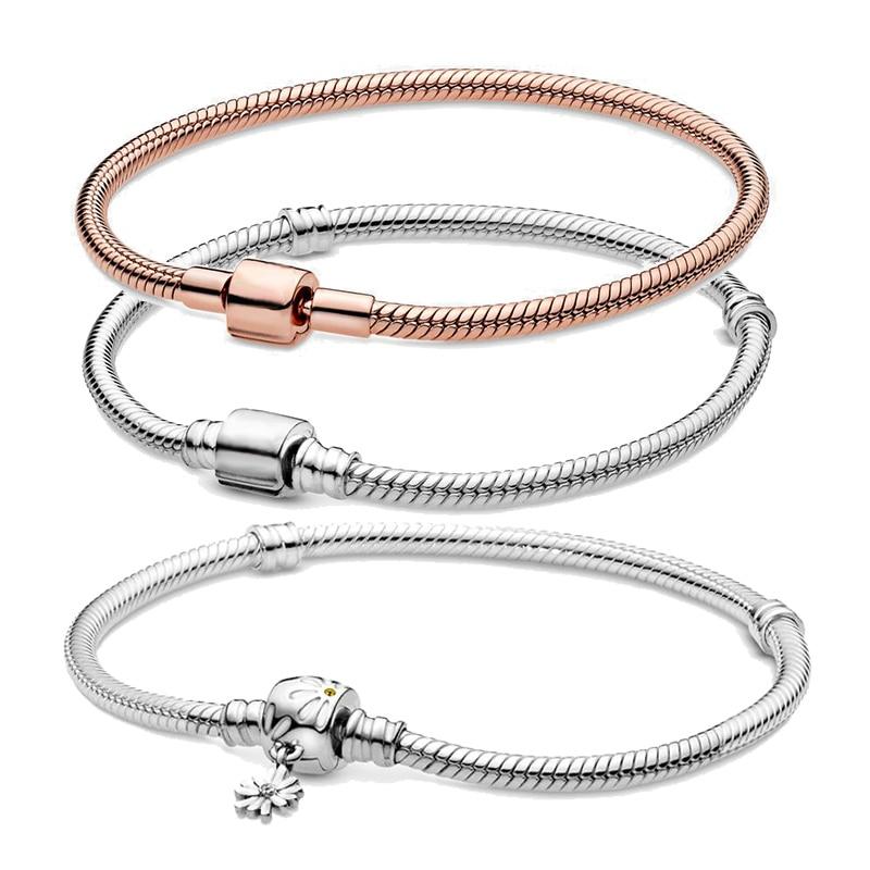 Fashion 925 Sterling Argent Massif Bijoux Papillon Bracelet Pour Femmes H394-B