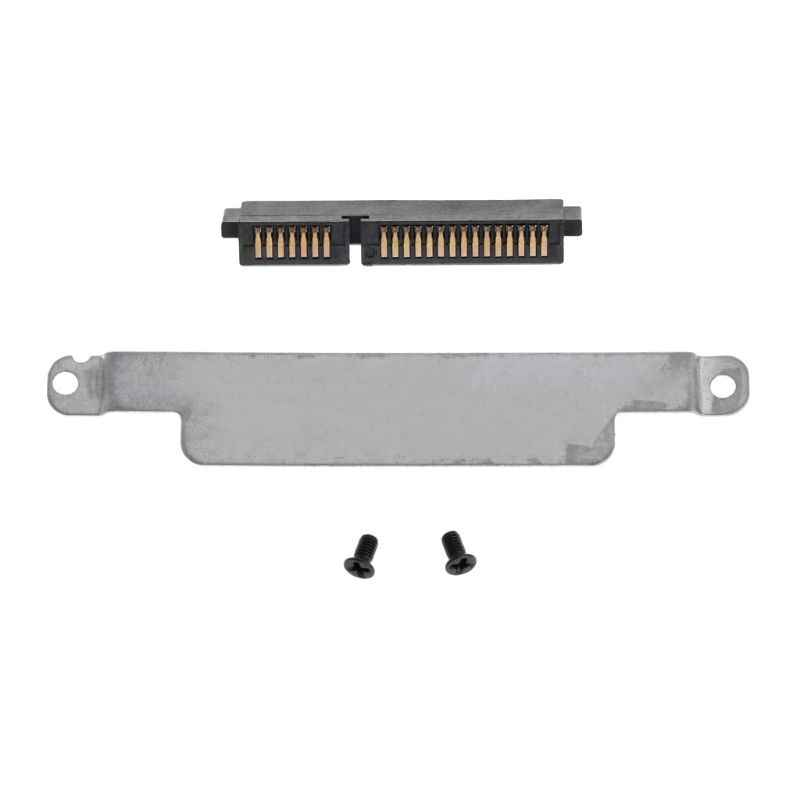 Hdd caddy suporte de disco rígido capa adaptador conector portátil acessório parafuso para dell e6230