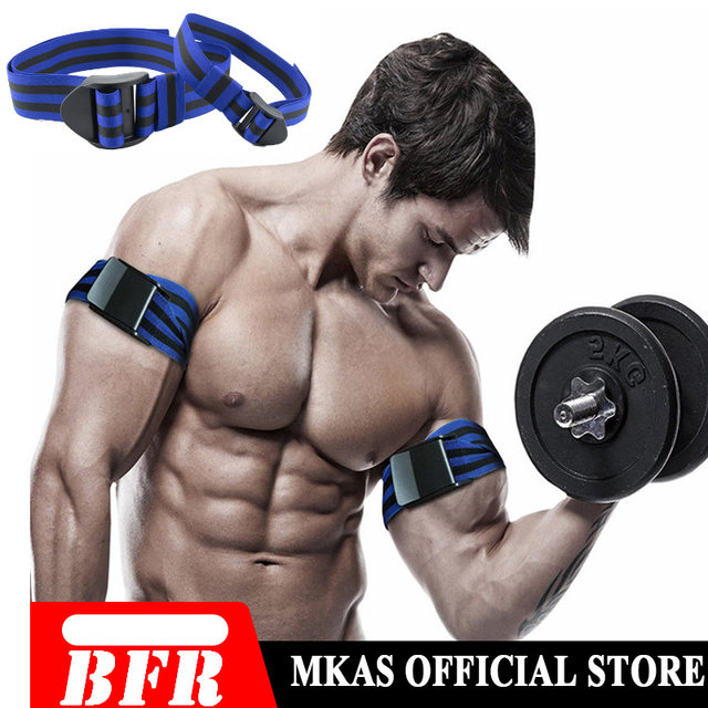 BFR Fitness Occlusion Bands Weight Bodybuilding Blood Flow Restriction Bands Arm Leg Wraps Fast Muscle Growth Gym Equipment 6