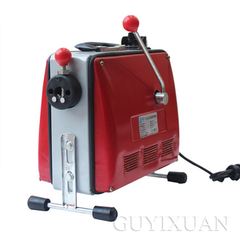 Household Automatic Pipe Dredging Machine Toilet Floor Drain Dredge Cleaning Machine Electric Sewer Dredging Machine