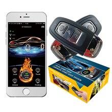 cardot best 2g gps gsm Smart Pke Keyless Entry Remote Starter engine Start Stop Car Alarm
