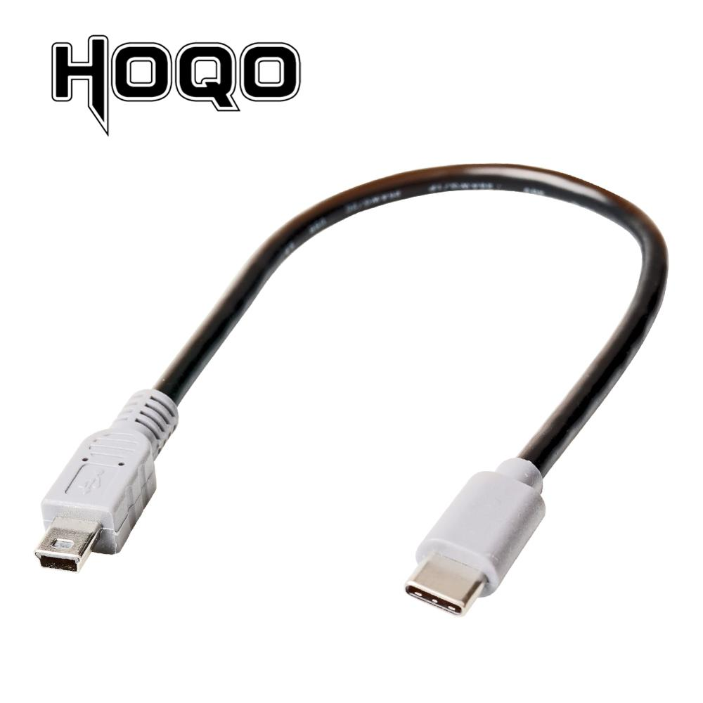 3FT 1M Spring Coiled Micro USB B to Mini USB 5 Pin Male Adapter Spiral cable TOU