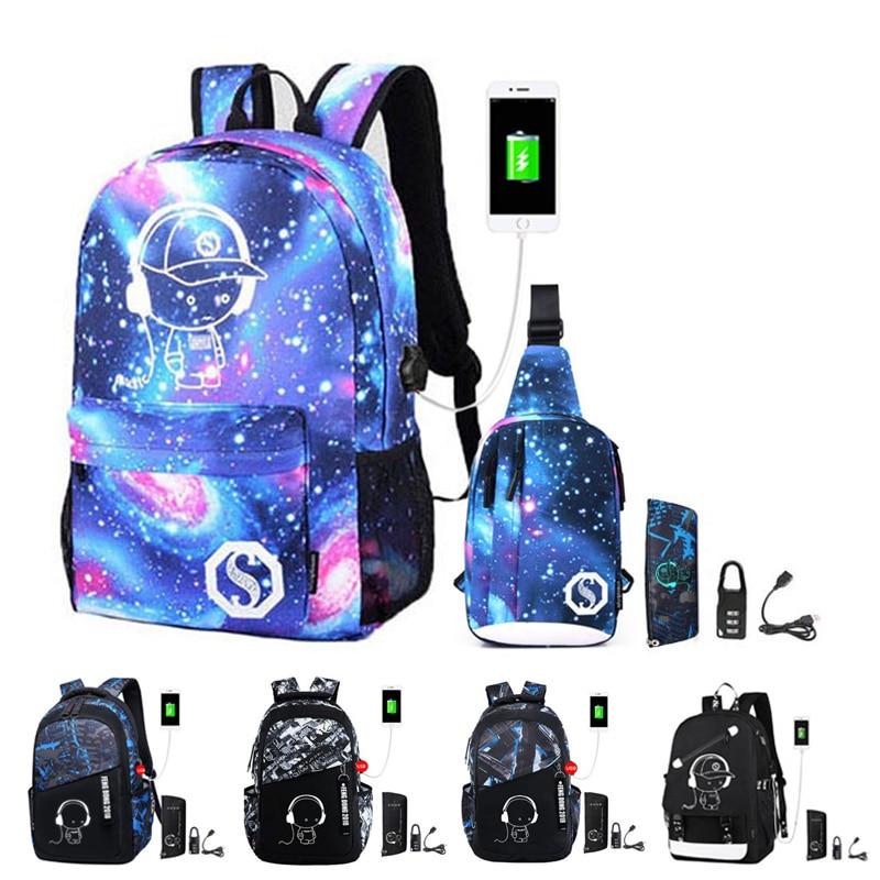 2020 New School Bags For Teenage Boys Children Bookbag Set Kids Primary School Backpack Waterproof Schoolbag Mochila Black