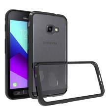 Мягкий силиконовый чехол из ТПУ/поликарбоната для Samsung Galaxy Xcover 4 Fundas Capa противоударный кристально прозрачный чехол жесткая задняя крышка для X Cover 4