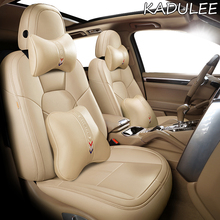 Car-Seat-Cover QX80 QX60 QX50 Infiniti Fx Real-Leather Car-Styling for KADULEE EX JX