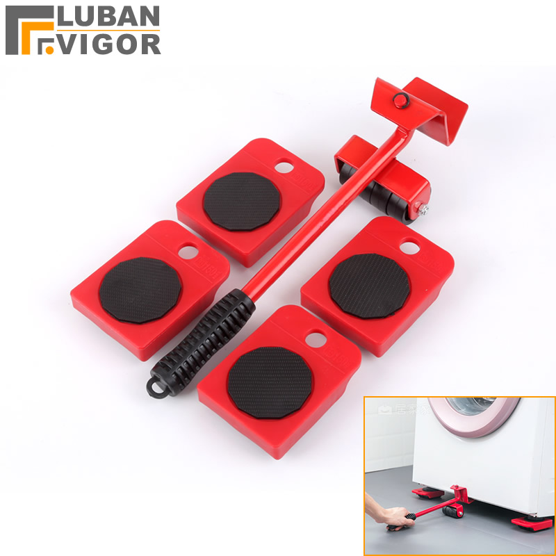 Moving Artifact Furniture Shifter Moving Pulley Heavy Goods Handling Tools,move Easier,can Load 150 Kg,Furniture Caster