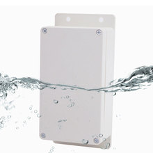 DIY Waterproof Connection Box Indoor and Outdoor ABS Plastic Housing Wiring Junction Box Electrical Project Case недорого