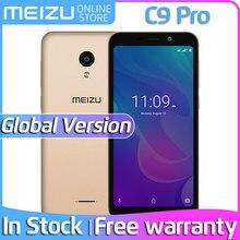 Официальный Meizu C9 Pro, 3 ГБ ОЗУ, 32 Гб ПЗУ, глобальная версия, смартфон, четыре ядра, 5,45 дюймов, HD экран, 13 МП, задняя панель, 3000 мАч, аккумулятор, разблокировка лица