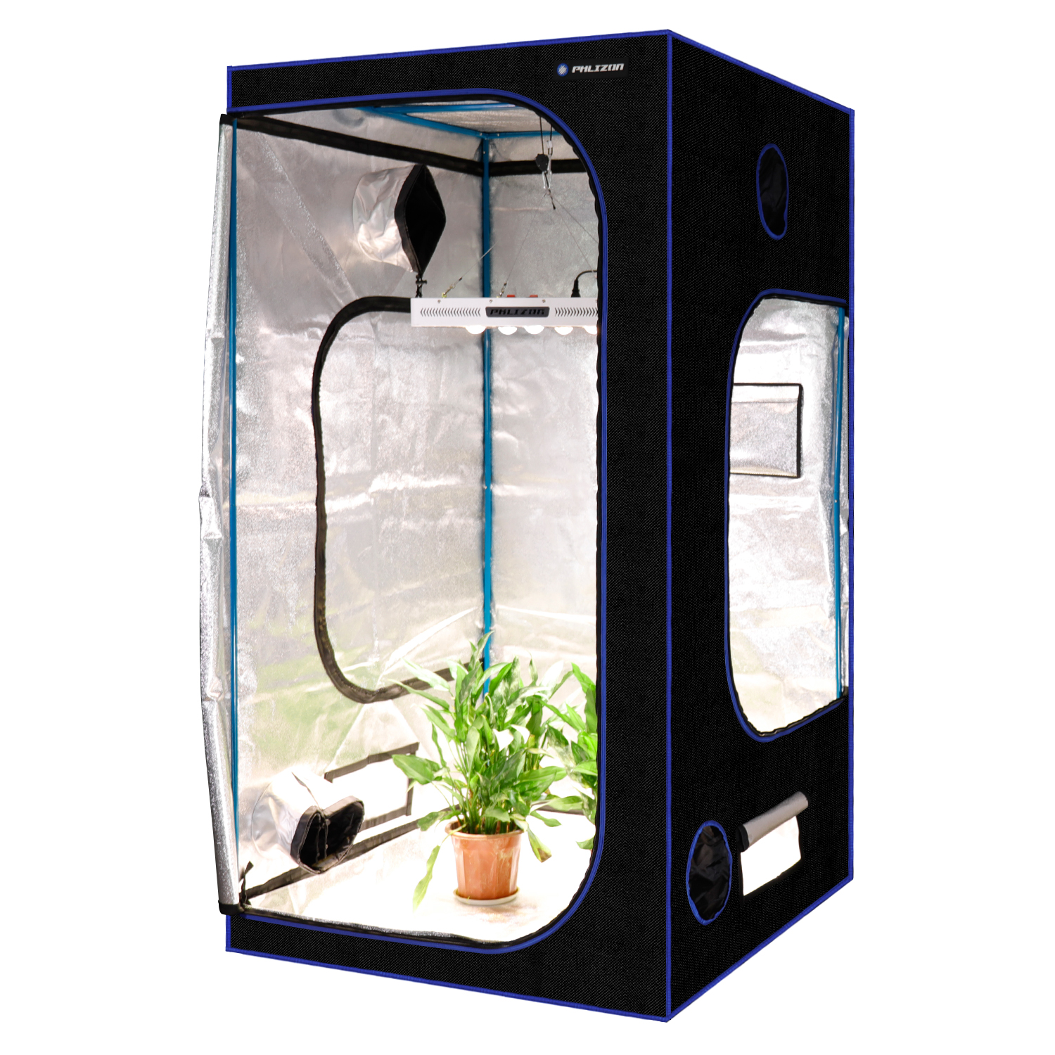 Phlizon hydroponics grow tent indoor culture grow room|LED Grow ...