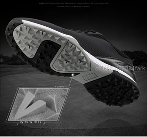 Image 5 - Golf Shoes Mens Sneakers Anti skid Sole Breathable Sneakers Waterproof Soft Golf Shoes for Men Training Sports Shoes
