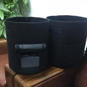 3 размера мешки для выращивания растений домашний садовый горшок для картошки теплицы мешки для выращивания овощей увлажняющий jardin вертикальный садовый мешок для рассады