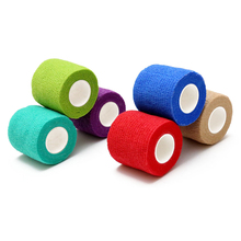 Tattoo Accesories Grip Wrap Roll Elastic Bandage Handle Tube Disposable Nonwoven Self Adherent tattoo supplies
