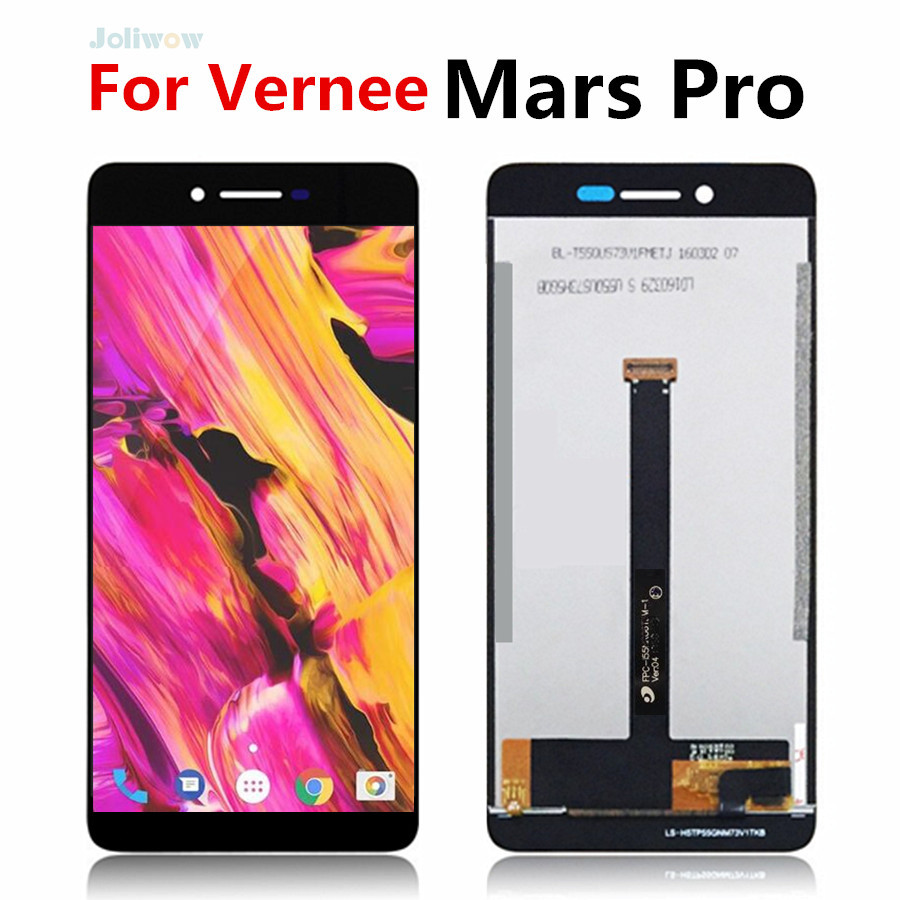 Tested working 5.5 inch For VERNEE MARS PRO LCD Display Touch Screen Digitizer Assembly Replacement LCD for Vernee Mars Pro lcd