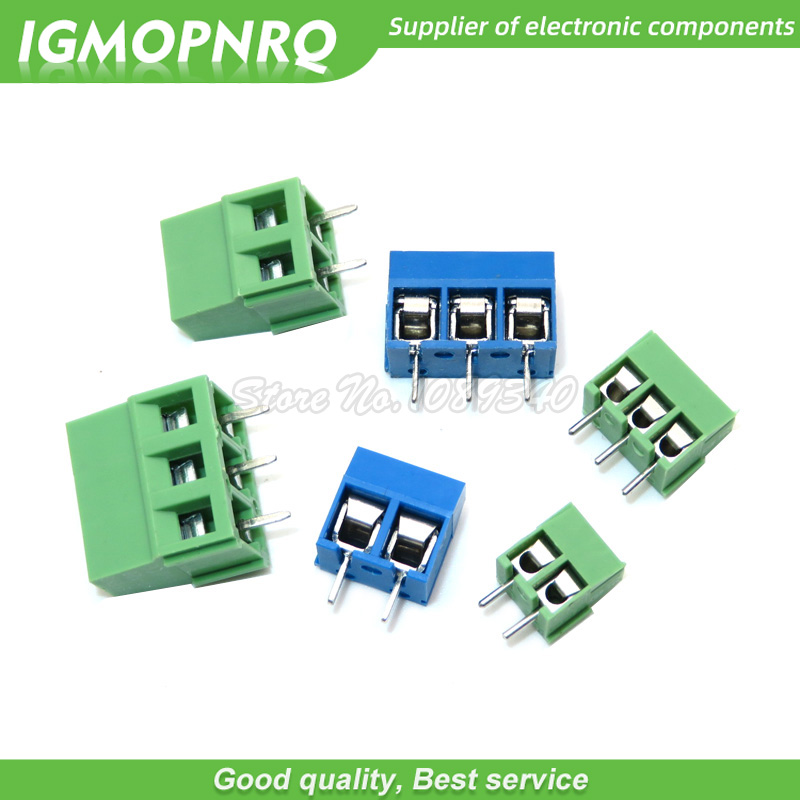 New 10PCS Terminals Male DG128 KF128-2P Pitch 5.08MM 300V//10A