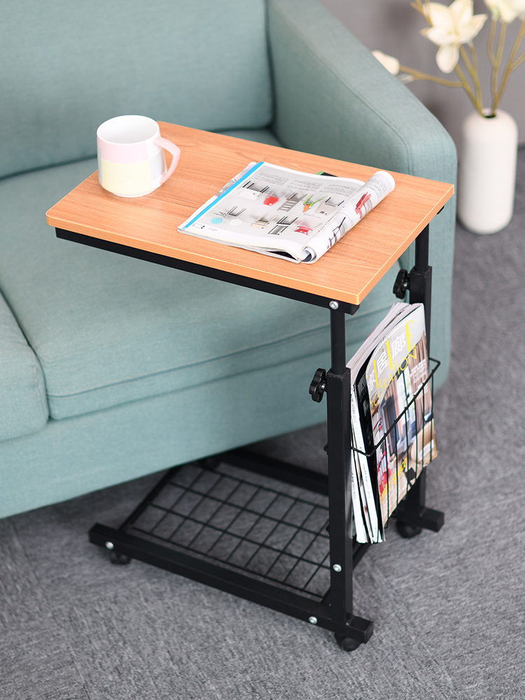 Bedside Table Lift Small Coffee