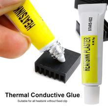 5gram Thermal Conductive Glue Silicone Plaster Viscous Adhesive Cooling Compound For LED GPU Chipset Heatsink
