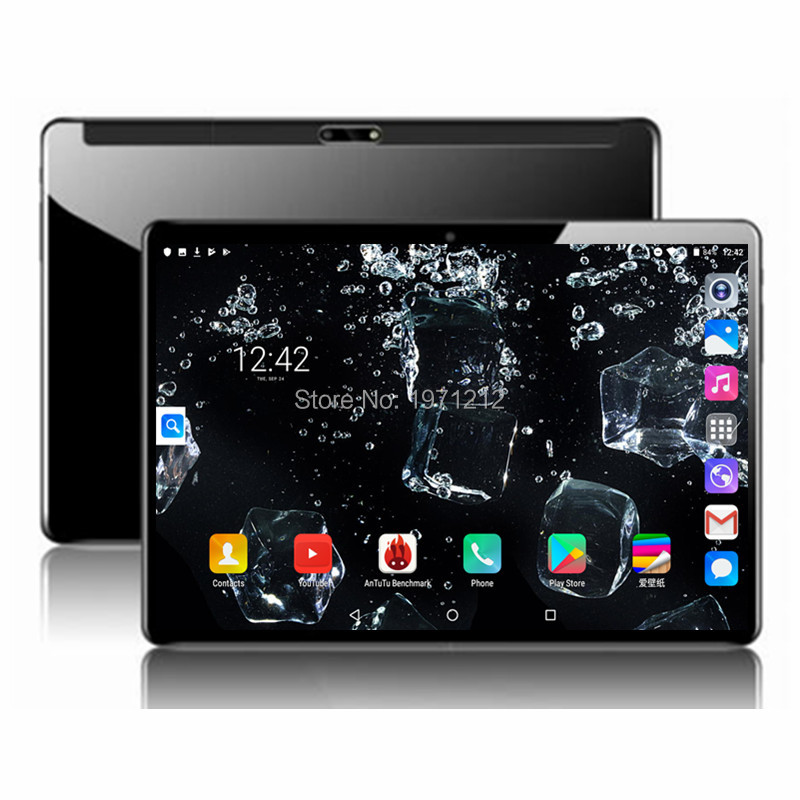 BOBARRY 10 Inch 4G LTE Tablets Deca Core Android 9.0 RAM 6GB ROM 64GB Dual SIM Cards 1920*1200 IPS HD 10.1 Inch Tablet PCs+Gifs
