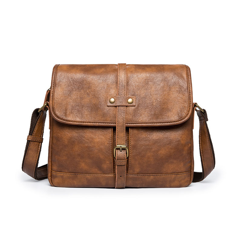 Designer Brand Briefcase Men Soft Leather Shoulder Travel Bag Business Office Leather Laptop Bag Cover Messenger Bags