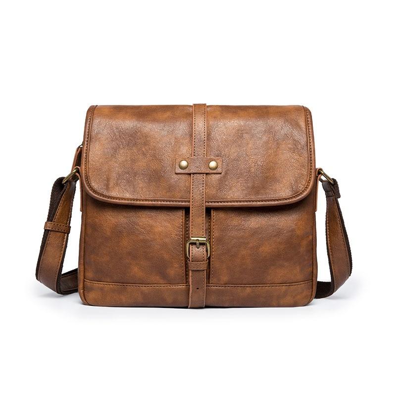 Designer Brand Briefcase Men Soft Leather Shoulder Travel Bag Business Office Leather Laptop Bag Cover Messenger Bags