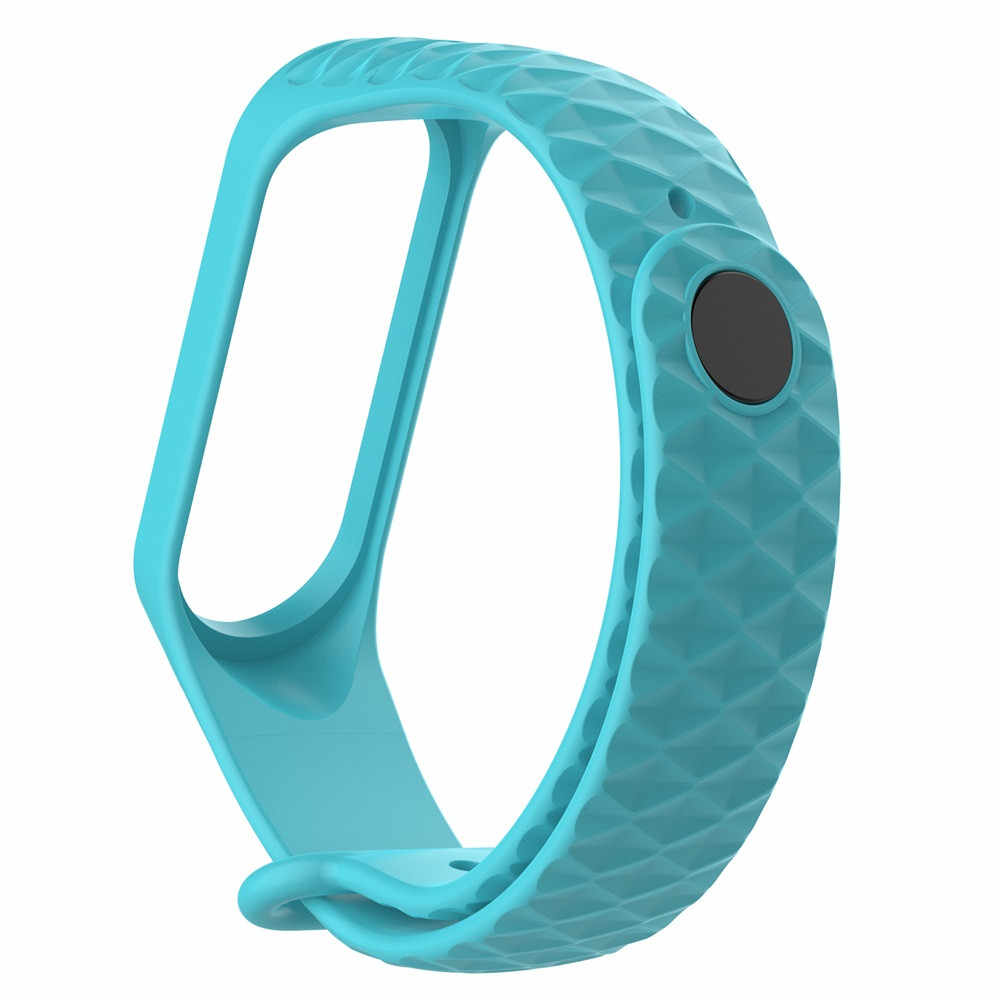 ใหม่ 2 สไตล์สายรัดข้อมือสำหรับ Xiao Mi Mi Band 4 3 นาฬิกาสายคล้องคอซิลิโคนสายรัดข้อมือกีฬาสร้อยข้อมือสมาร์ทอุปกรณ์เสริมใหม่