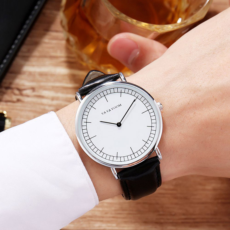 Hannah Martin Men Watches Quartz Minimalist Business Leisure Wristwatches For Male Trendy Style Gift Dropshipping Reloj Hombre
