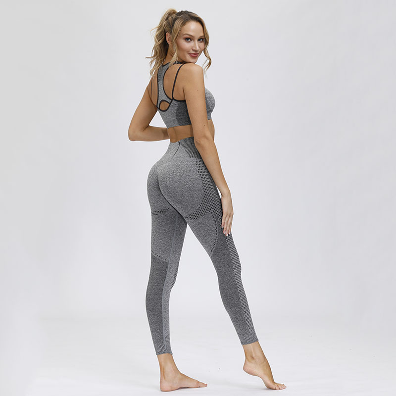 High Waisted Seamless Leggings Sport Women Fitness Workout Yoga Pants Scrunch Bum Tights With Waistband Zip Pocket Gym Clothing