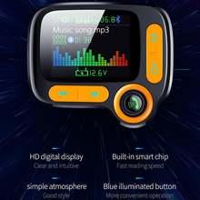 Автомобильный fm передатчик Авто pantalla цветной bluetooth