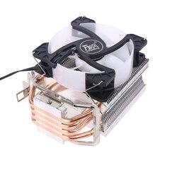 Радиатор для процессора с 4 тепловыми трубками, охлаждающий вентилятор 90 мм, радиатор для разъема AMD AM4 AM3 и Intel775 1150 1151 1155 1156 1366, вентиляторы дл...