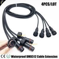 4 teile/los Outdoor 3m von DMX512 Verlängerung Kabel und Bühne Licht 3m Power Verlängerung Kabel 3m-in Bühnen-Lichteffekt aus Licht & Beleuchtung bei