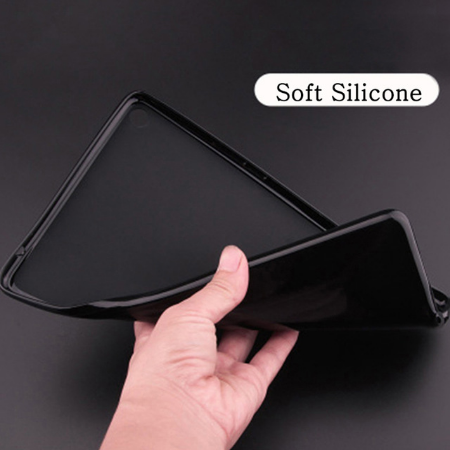 Soft Shell Gray Case For iPad 10 2 inch 2020 Flip Trifold Stand Case PU Leather Full Smart Auto.png_640x640.png