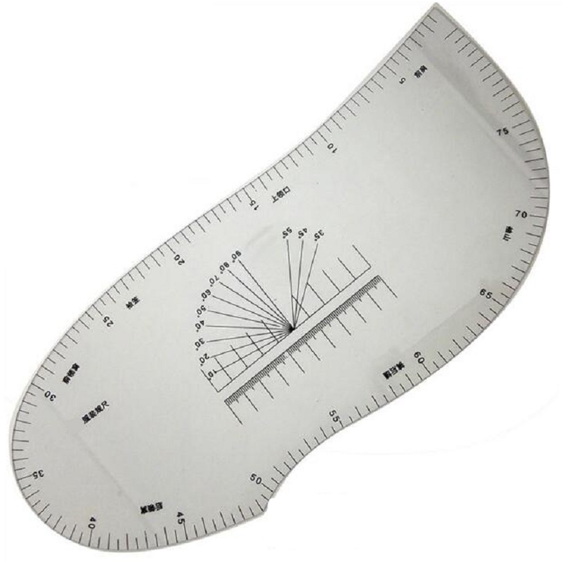 Multifunction Tailor Ruler Curve Pattern Grading Sewing Design Ruler Sleeve Collar Ruler