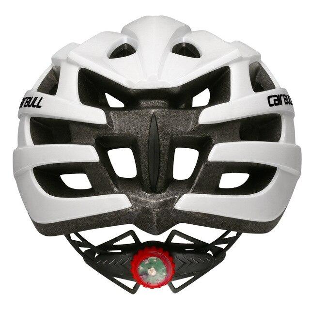 Cairbull capacete de ciclismo respirável, com viseira removível, óculos de bicicleta, lanterna traseira, segura, capacetes de montanha e estrada mtb 6