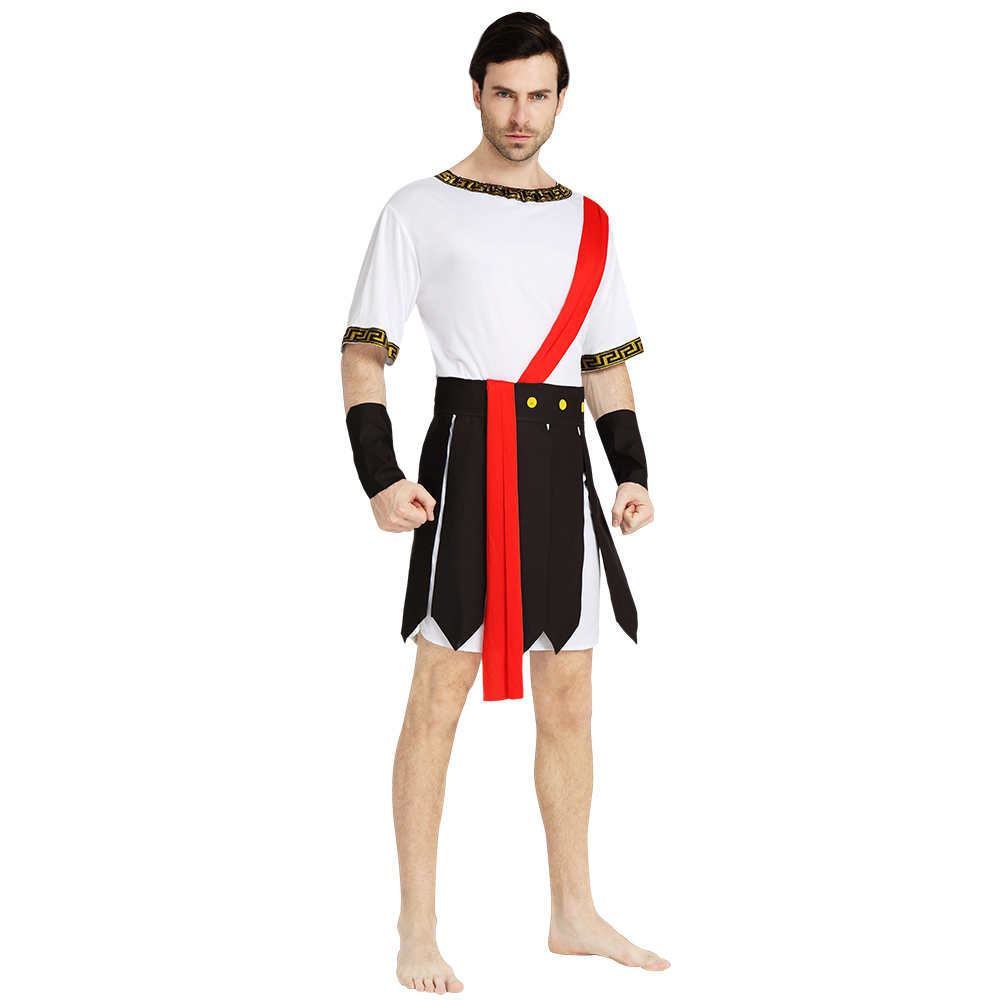 Halloween Costume For Man Adult Warrior Costumes Outfit Fantasy Jumpsuits For Role-Playing Games